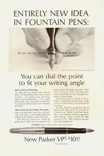 1962 Vintage ad Parker Pen/New Parker VP/Dial the Point (070513)