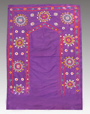 Antiquarian Uzbek Silk Hand Embr Praying Joynamoz #5266