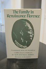 The Family in Renaissance Florence by Leon Battista Alberti - First Edition