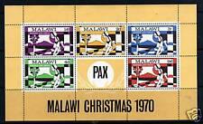 Malawi 1970 Christmas MS SG 368 MNH