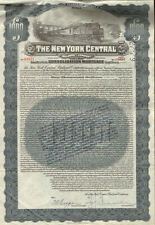 New York Central Railroad Company > $1,000 gold bond certificate 1913 stock