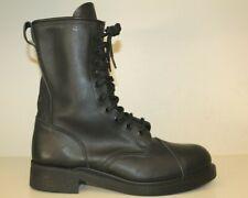 Mens Steel Cap Toe Boots Sz 11.5 W Black Leather Tactical Military Combat
