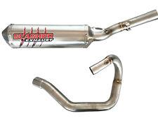 09-11 Honda CRF450R Slasher S.S. Full MC Exhaust System w/SA - SALE 12-2450-2S