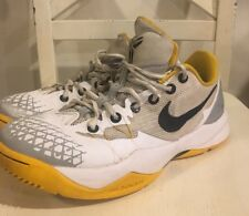 Kobe Zoom Venomenon 4 IV Mens 7.5 White University Gold 630916-107
