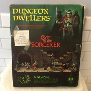 Heritage USA Dungeon Dwellers Paint & Play - Crypt of the Sorcerer