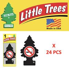 NO SMOKE Little Trees Freshener Air Tree MADE IN USA  17037 U1P-17037 Pack of 24