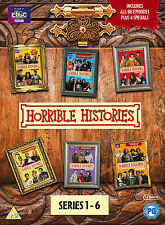 Horrible Histories: Series 1-6 (Box Set) [DVD]
