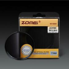 ZOMEI 52-82mm Gradual Filter Gradient change Gray Filter for Canon Nikon DSLR