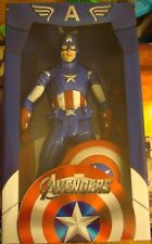 "NIB Captain America Marvel Avengers 1/4 Scale 18"" Tall With Shield"