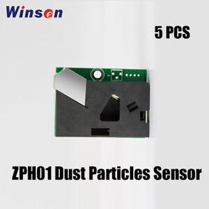 5Pcs Winsen ZPH01B PM2.5 VOC Sensor Module Air Pollution Detection UART Output