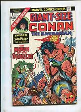 GIANT-SIZE CONAN #1 (7.5) THE HOUR OF THE DRAGON!