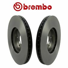 Pair Set of 2 Front Disc Brake Rotors Vented Brembo for Infiniti G35 M45 Nissan