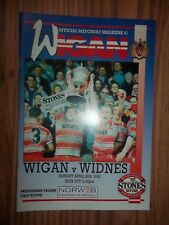 WIGAN v WIDNES  26/04/92  EXCELLENT