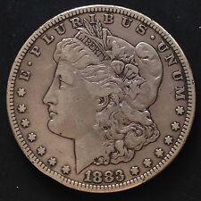 USA 1883 S Morgan Dollar Silber San Francisco Selten F 3399