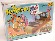 Lindberg 1/25 The Flintstones FLINTMOBILE SNAP Plastic Model Kit HL604