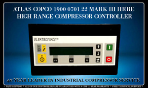 ATLAS COPCO 1900070122 ELEKTRONIKON PROGRAMMED WITH YOUR COMPRESSOR'S SETTINGS