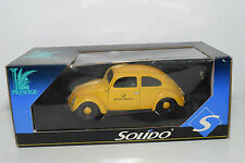 SOLIDO 1:18 VW VOLKSWAGEN BEETLE KAFER DEUTSCHE BUNDESPOST MINT BOXED RARE