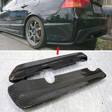 Carbon Fiber FOR Honda Civic 8th 4D Sedan Rear Side Splitter Spoiler 2006-2011