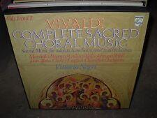 NEGRI / VIVALDI complete sacred choral music 1 & 2 ( classical ) 2 lp box