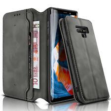 Ledertasche für Samsung Galaxy Note 9 Handytasche Flip Cover Case Hülle Etui