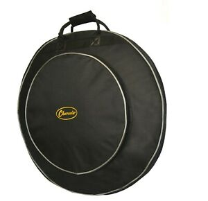 """Padded Cymbal Gig Bag Takes 22"""" and 24"""" Cymbals with compartments by Clearwater"""