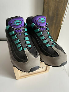 Nike Air Max 95 Grape 609048-030 Size 9 AM95 Neutral Grey/Varsity Purple-Dark