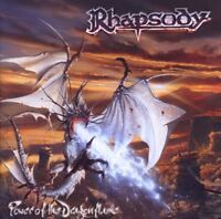 """RHAPSODY """"POWER OF THE DRAGONFLAME"""" CD NEUWARE!!!!!!!"""
