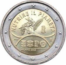 """Italy 2 euro coin 2015 """"EXPO Milan 2015"""" UNC"""