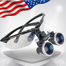 US High-end Luxury Dental Surgical Medical Binocular Loupes 2.5X 420mm Magnifier