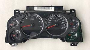 2007 2008 GMC Chevy Yukon Sierra Rebuilt Dash Speedometer Gauge Cluster 25861677