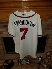 2006 Jeff Francoeur Atlanta Braves Game Worn - Game Used Home Auto. MLB Jersey
