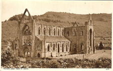 Wales: Tintern Abbey from St Ann's - B&W - Unposted c1930s