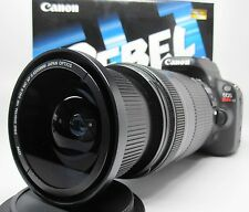 Ultra Wide Angle Macro Fisheye Lens for Canon Eos Digital Rebel 28-200 USM 18-55