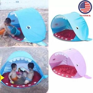 Portable Baby Beach Sun Shelters Tent Pop Up Shade Pool UV Protection For Infant