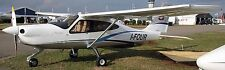 P-2010 Tecnam Italy High-Wing Airplane Wood Model Replica Small Free Shipping