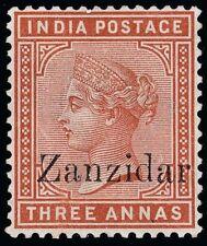 Zanzibar Scott 8a Gibbons 10j Mint Stamp
