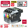 4x LC233 LC-233 BCMY Generic Ink Cartridges for Brother MFC-J5320DW MFC-J5720DW