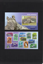 SOUTH GEORGIA 2020, NEW DEFINITIVE AIRMAIL BOOKLET, 10v., WITH STICKER, MNH
