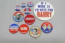 A Group Lot Vintage Political Pins Pinbacks Buttons