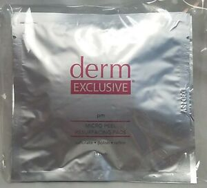 Derm Exclusive PM Micro Peel Resurfacing Pads (3 packs of 15 = 45) New Sealed i6