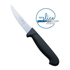 "F Dick 4"" Black Poultry Knife 8.1340.10 - Butcher / Chef / Chicken Boner"