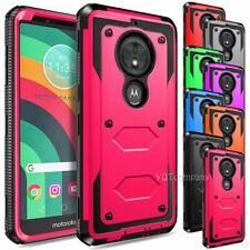 For Motorola Moto E5 Go/Play/Cruise Case Hard Armor Shockproof TPU Phone Cover