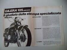advertising Pubblicità 1973 MOTO GILERA 125 ARCORE