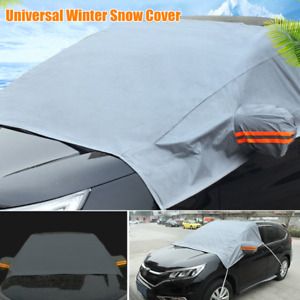 1×Car Windshield Cover Sun Shade Protector Winter Snow Ice Rain Dust Frost Cover