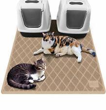 New listing Gorilla Grip Original Premium Durable Multiple Cat Litter Mat, 47x35, Xl Jumbo,
