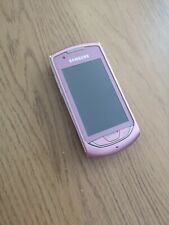 Samsung Monte S5620 - Pink (Unlocked) smartphone