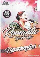 NASEEBO LAL - ROMANTIC TOP 50 HITS - LIMITED EDITION - 4 CDs SET