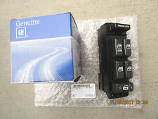00 - 02 CHEVY SILVERADO 4D CREW CAB MASTER POWER WINDOW SWITCH OEM NEW 19259961