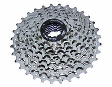 BICYCLE FREEWHEEL 8 SPEED CLUSTER 11-32T CHROME CRUISER MTB ROAD BIKES CYCLING