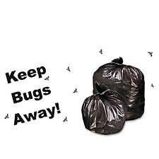 Stout Insect-Repellent Trash Garbage Bags 55gal 2mil 37 x 52 Blk 65/Box P3752K20
